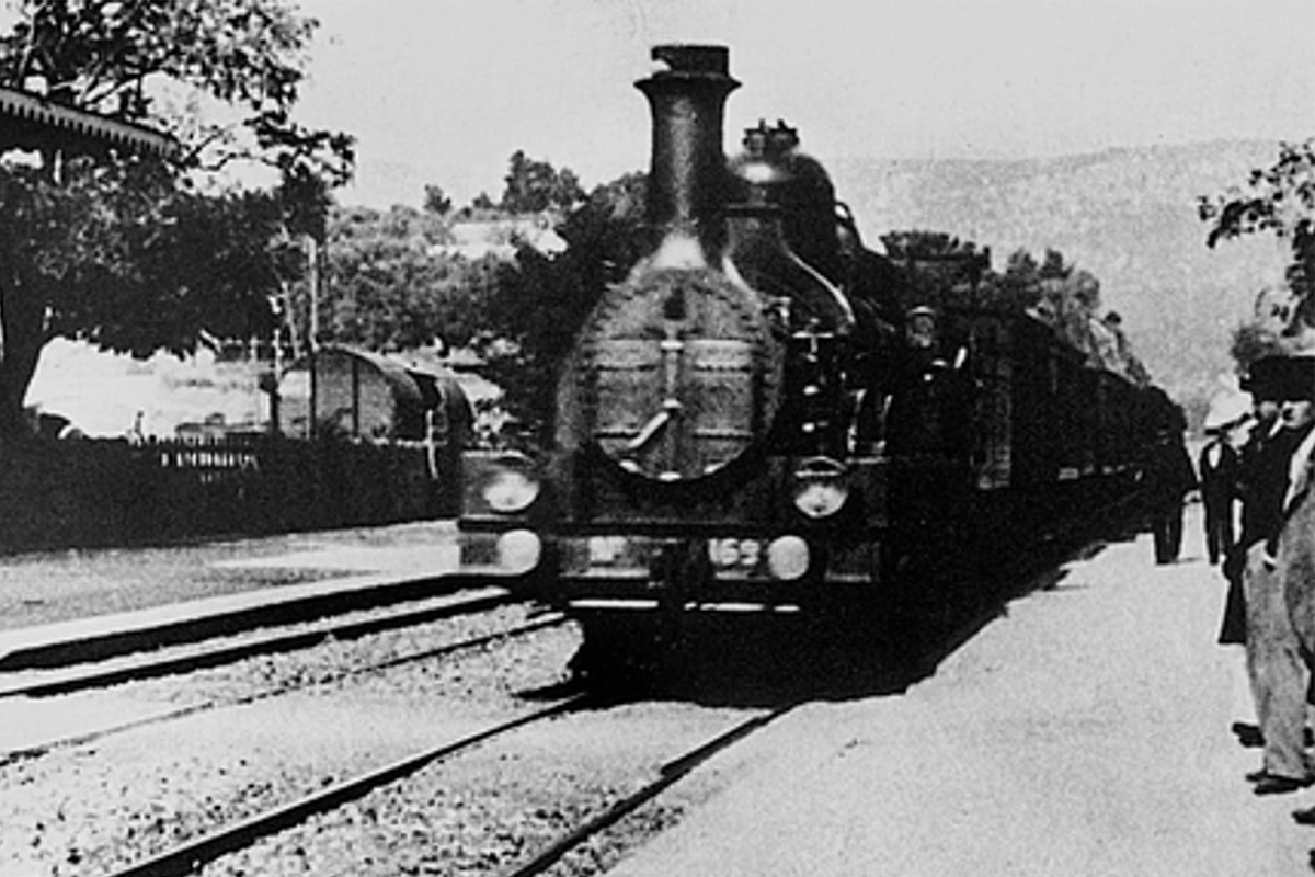 1895   L'arrivée d'un train à La Ciotat (Lumière)