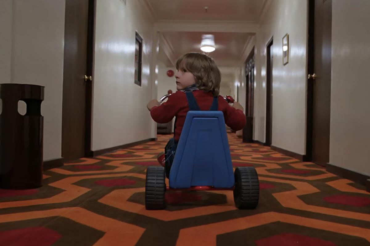 Shining (Kubrick) and the camera movements.