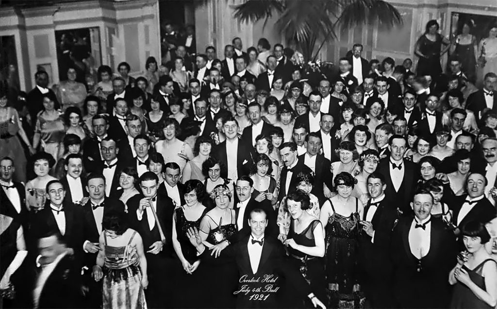 1921 - Jack Torrance in the Ball picture - Shining