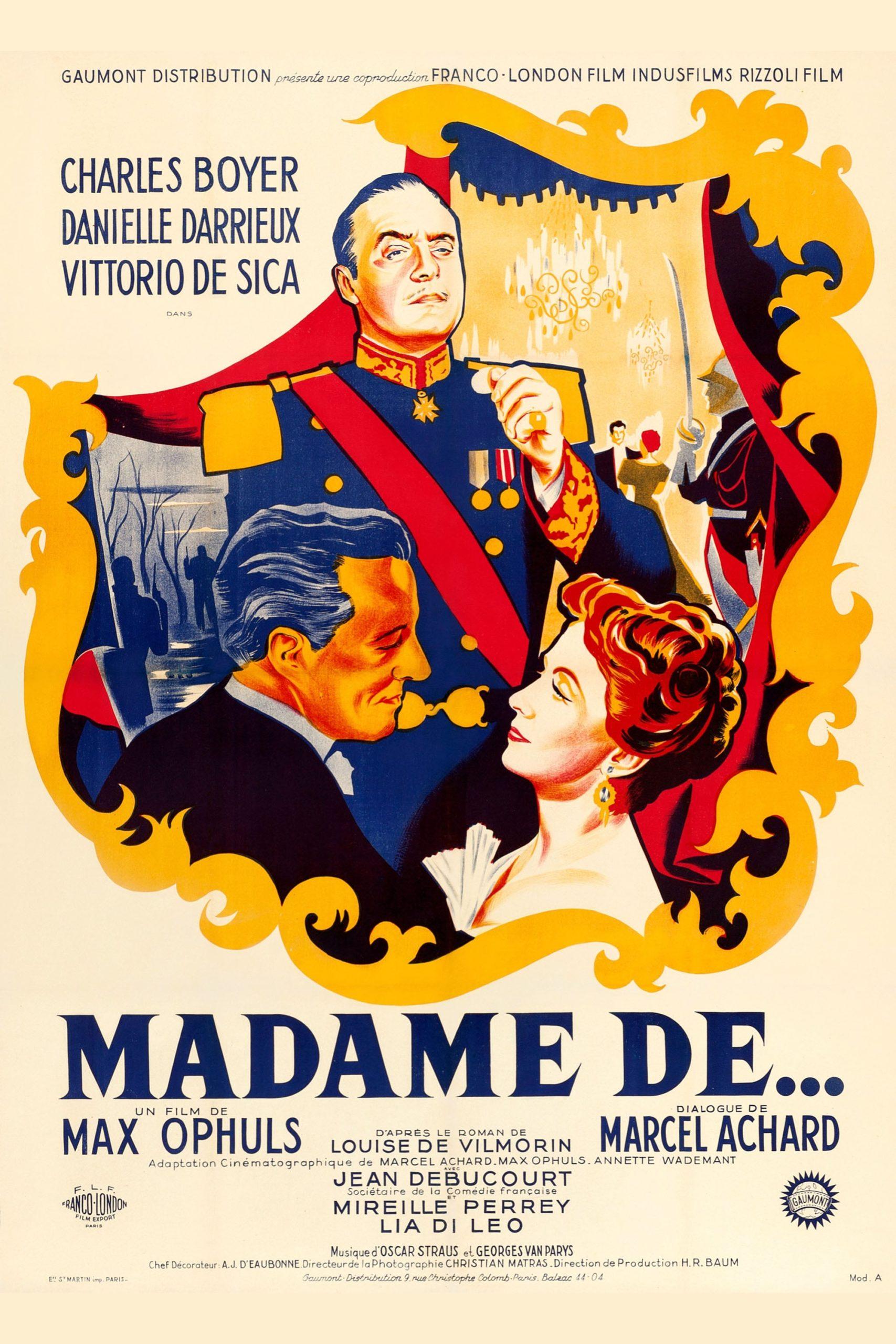 Madame de… (1953)