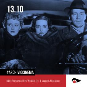 #ArchivioCinema: 13 ottobre nella storia del cinema.